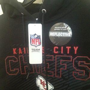 NFL KANSAS CITY CHIEFS BLACK HOODIE